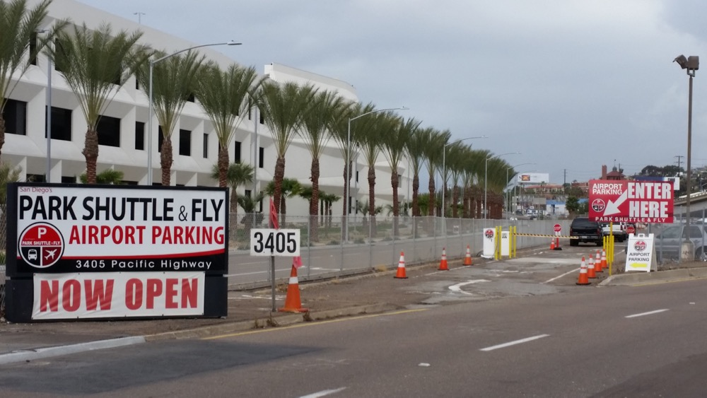 San Diego's Park, Shuttle & Fly Parking at San Diego International ...