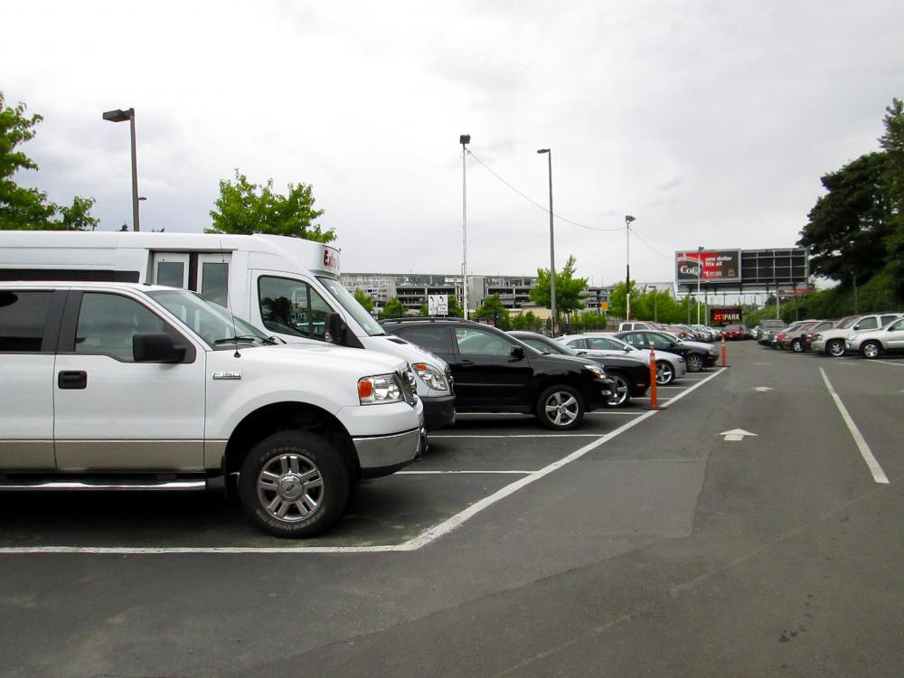 car parking at seattle seatac international airport sea