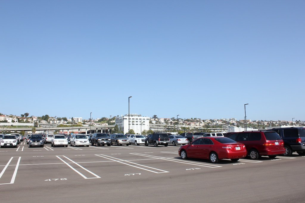 Cheap Airport Parking Seatac >> LAX Parking Lot C at Los Angeles International Airport, LAX