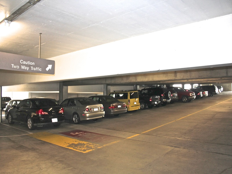 Westin los angeles airport parking at los angeles for Lax parking closest to airport